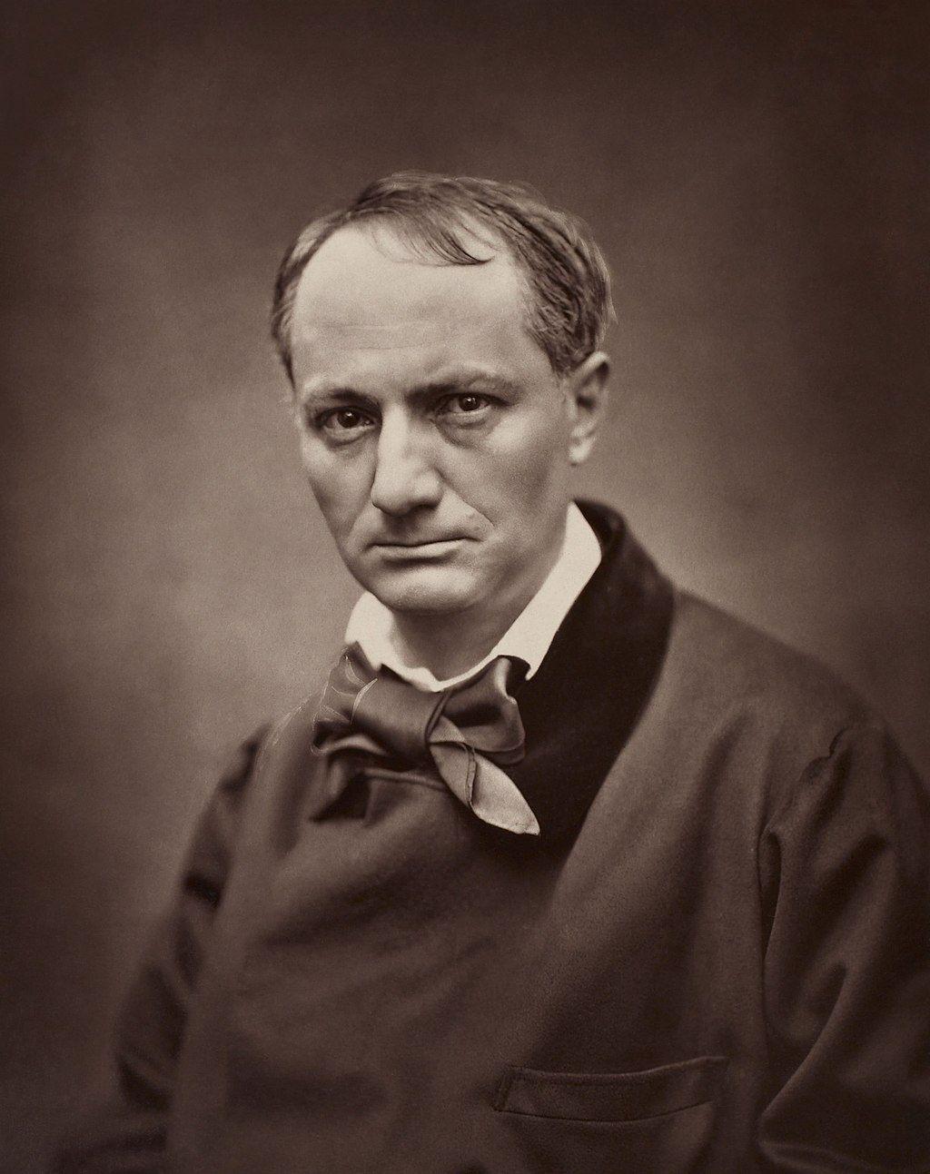 Charles Baudelaire par Étienne Carjat, vers 1862.