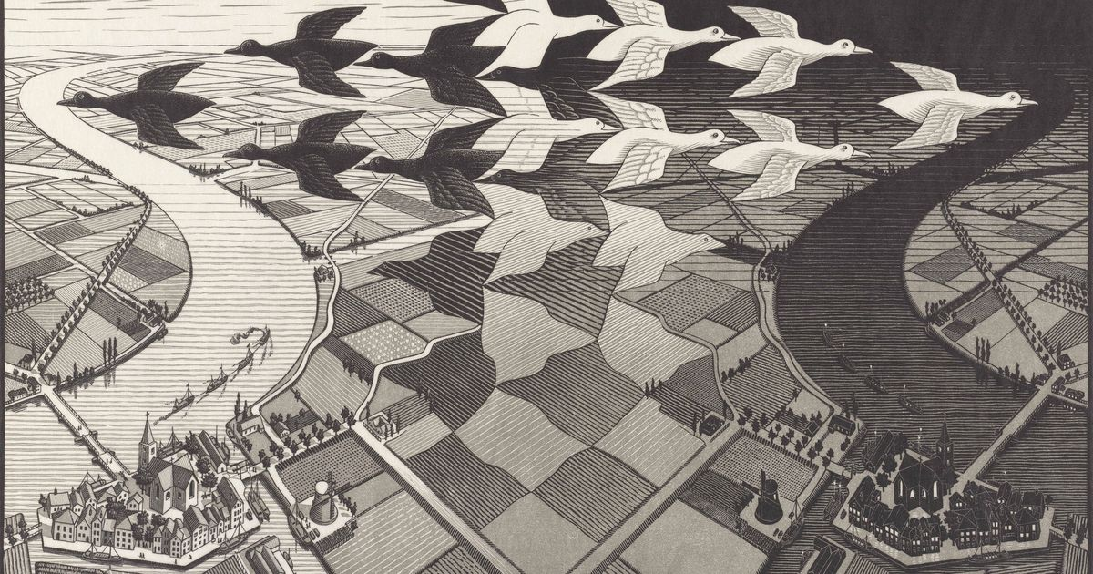 Escher S Love Affair With Landscape Explored In Home Town Show The Art Newspaper