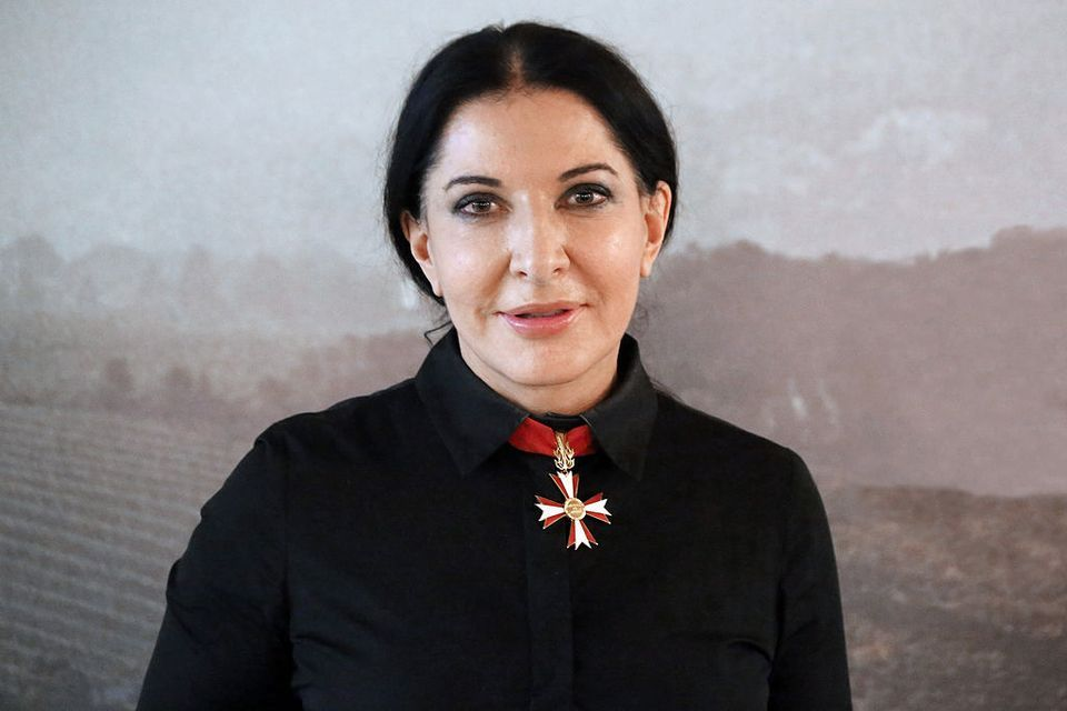 Marina Abramovic Attacked With Painting At Exhibition In Florence The Art Newspaper
