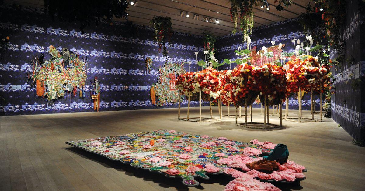 Ebony G Patterson New Garden Inspired Installations Reveal An Original Thinker In Full Bloom The Art Newspaper