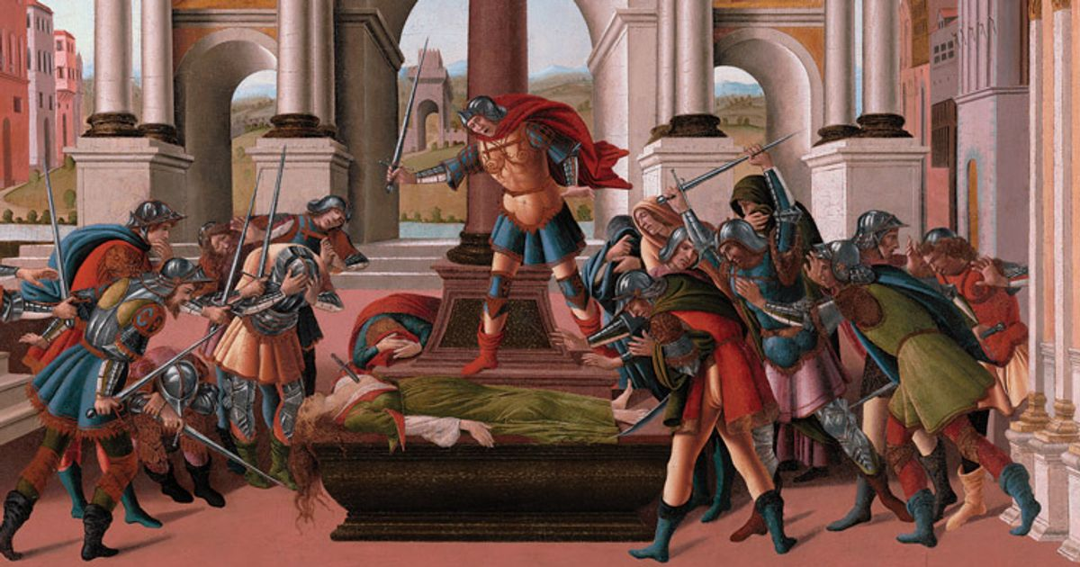 Botticelli's violent stories have a contemporary resonance in #MeToo era