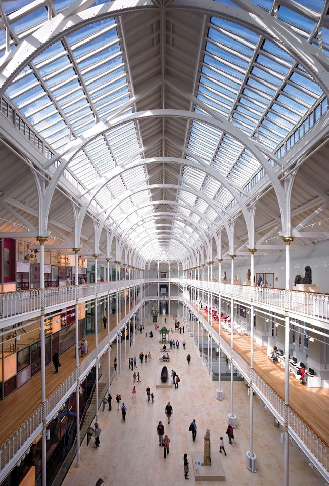 National Museum of Scotland completes 15-year makeover revealing ...