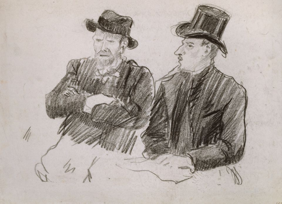Theo Van Gogh Is Identified In Mystery Drawing Now On Show In London The Art Newspaper