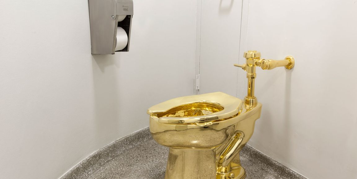 Maurizio Cattelan's golden toilet, once offered to Donald Trump, is on its  way to the UK | The Art Newspaper