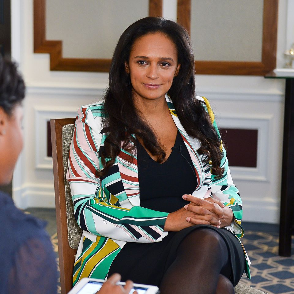 Luanda Leaks Isabel Dos Santos Who Owns Vast African Art Collection Accused Of Making Her 2 2bn Fortune By Exploiting Angola The Art Newspaper