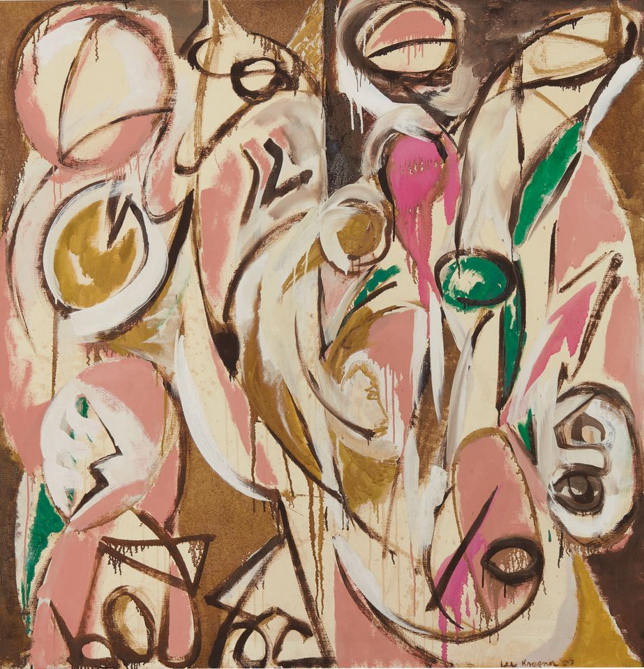 Lee Krasner's Re - Echo (1957) is estimated to sell for $4m-$6m.