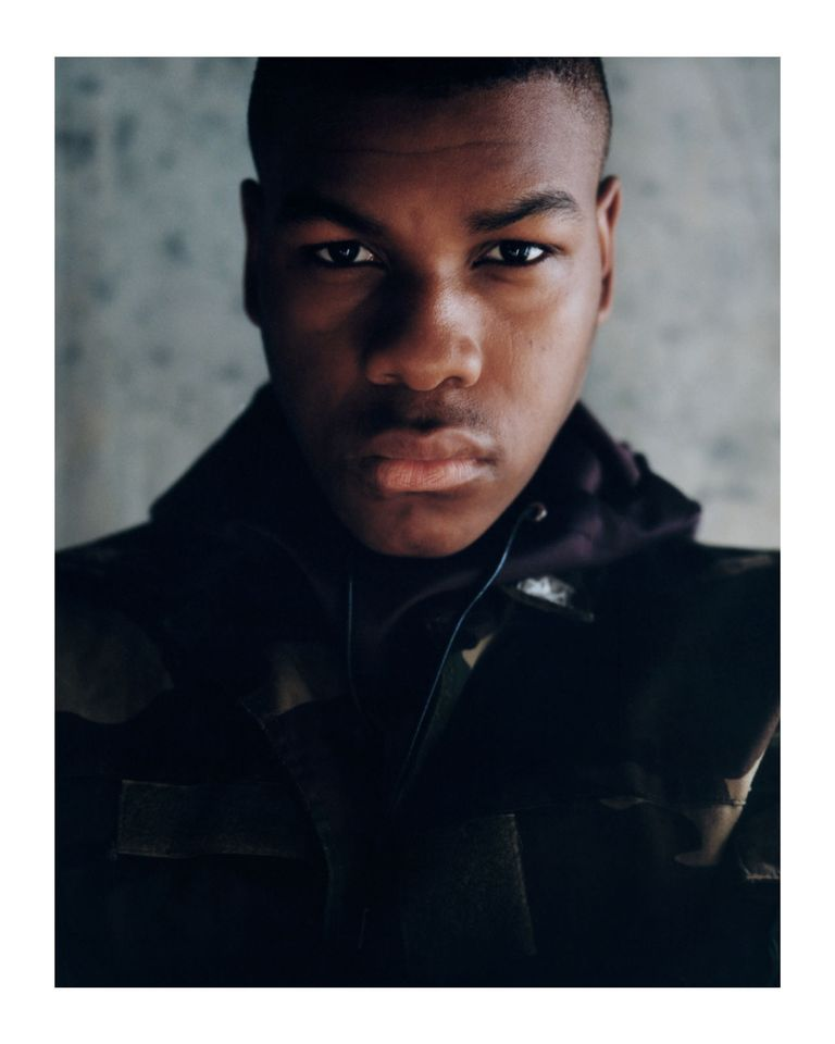 John Boyega (2014) by Olivia Rose