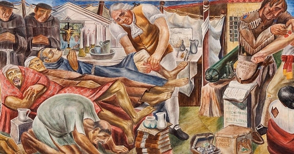 San Francisco University In Talks With Us Government About Preserving New Deal Era Murals Slated For Destruction The Art Newspaper