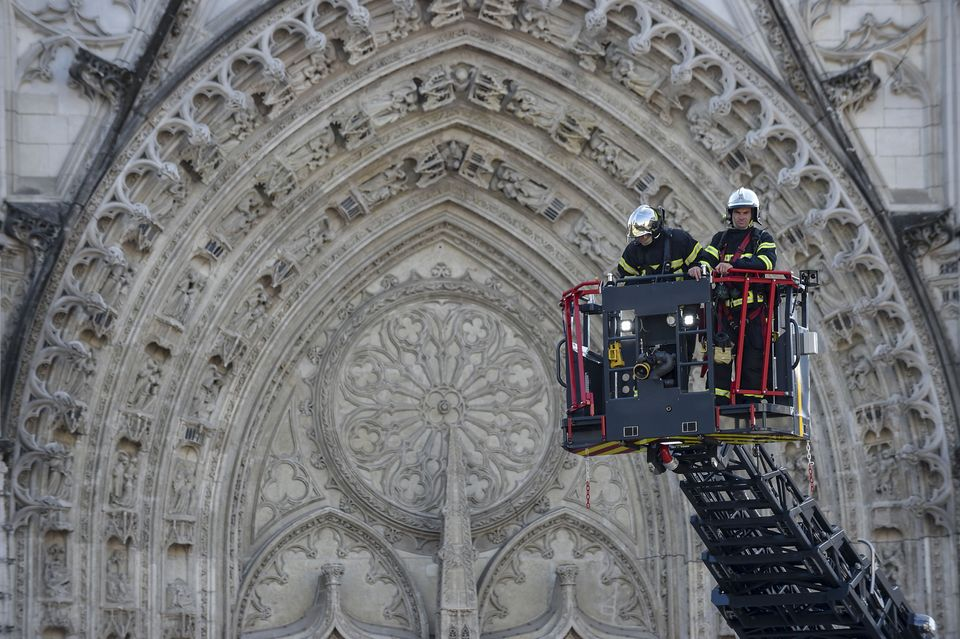 Security Questions Remain After Nantes Cathedral Blaze There S No European Country Where Church Fires Are This Common The Art Newspaper