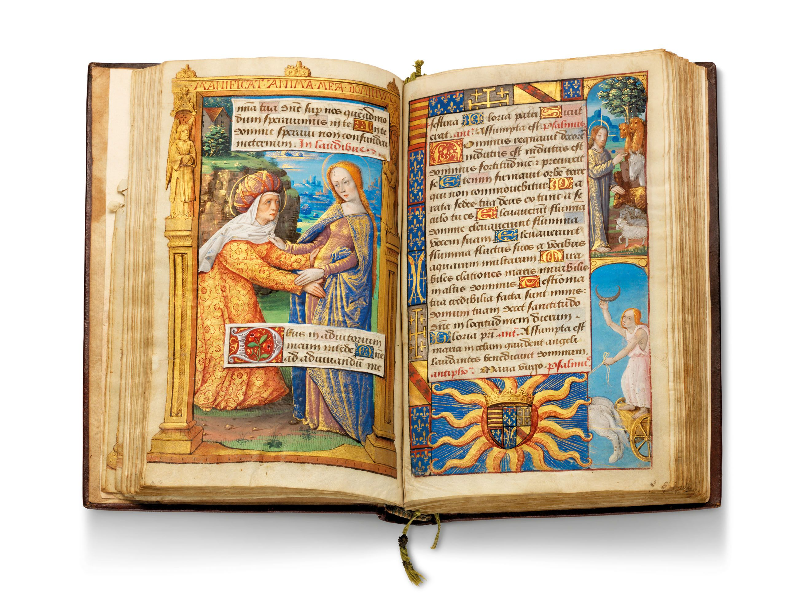 The Almanac Hours by the Monypenny Master of the Monypenny Breviary, sold for £1.6m
