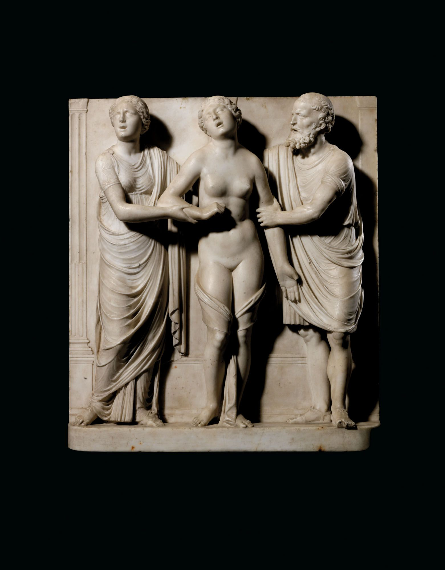 Death of Lucretia (around 1510), attributed to Antonio Lombardo