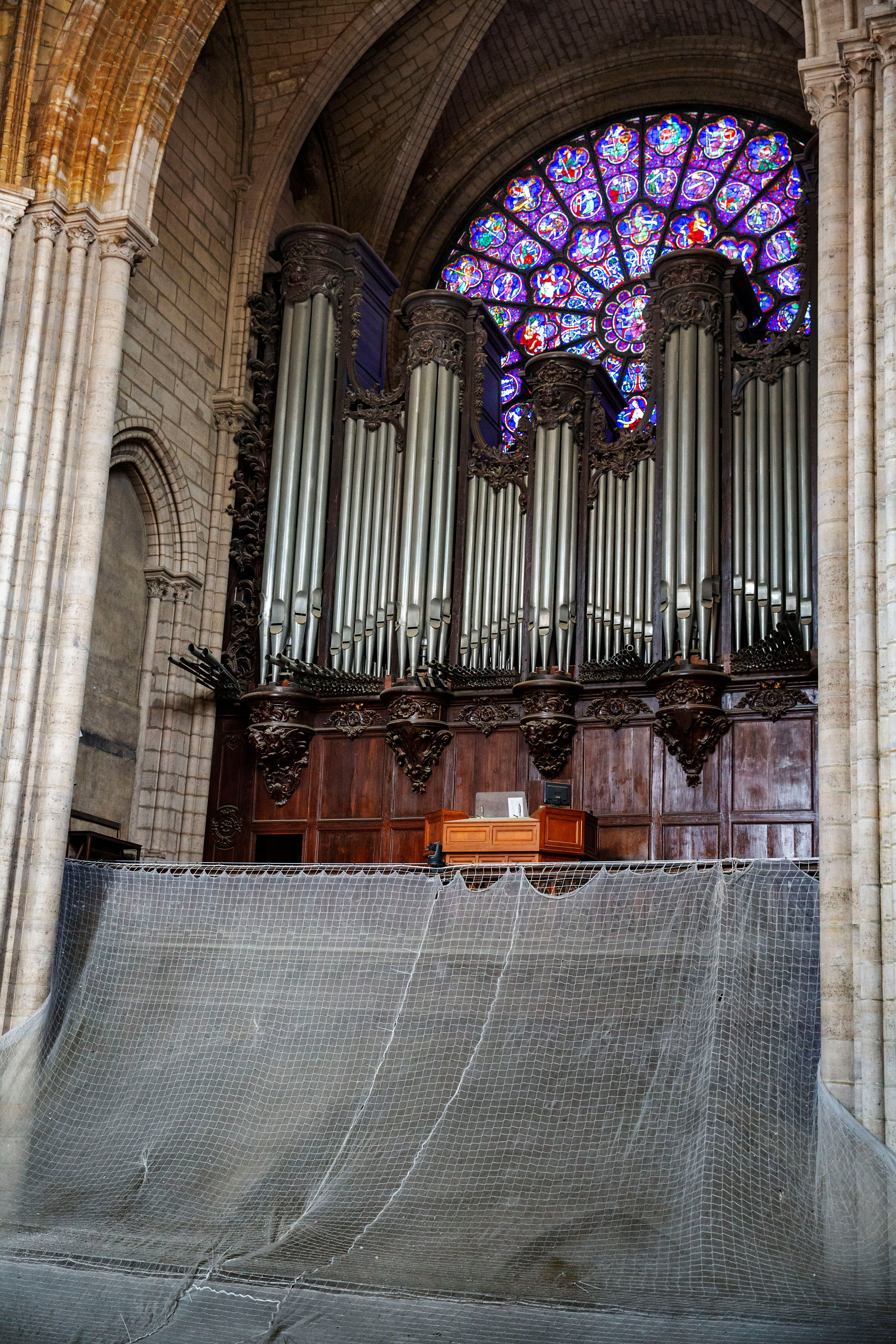 Saving Notre Dame S Voice Mammoth Restoration Begins On Cathedral S Fire Damaged Organ The Art Newspaper
