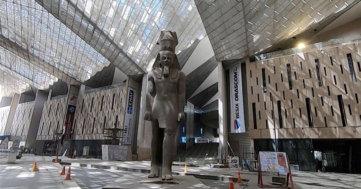 'Grand Egyptian Museum will be finished this year': behind the scenes of the giant $1bn project