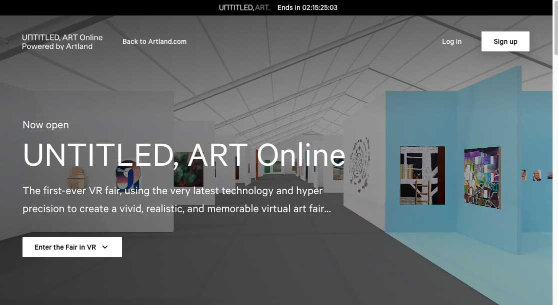 Untitled Art Online Fair And Artland Vast Data Collecting Capabilities And Some Great Art The Art Newspaper
