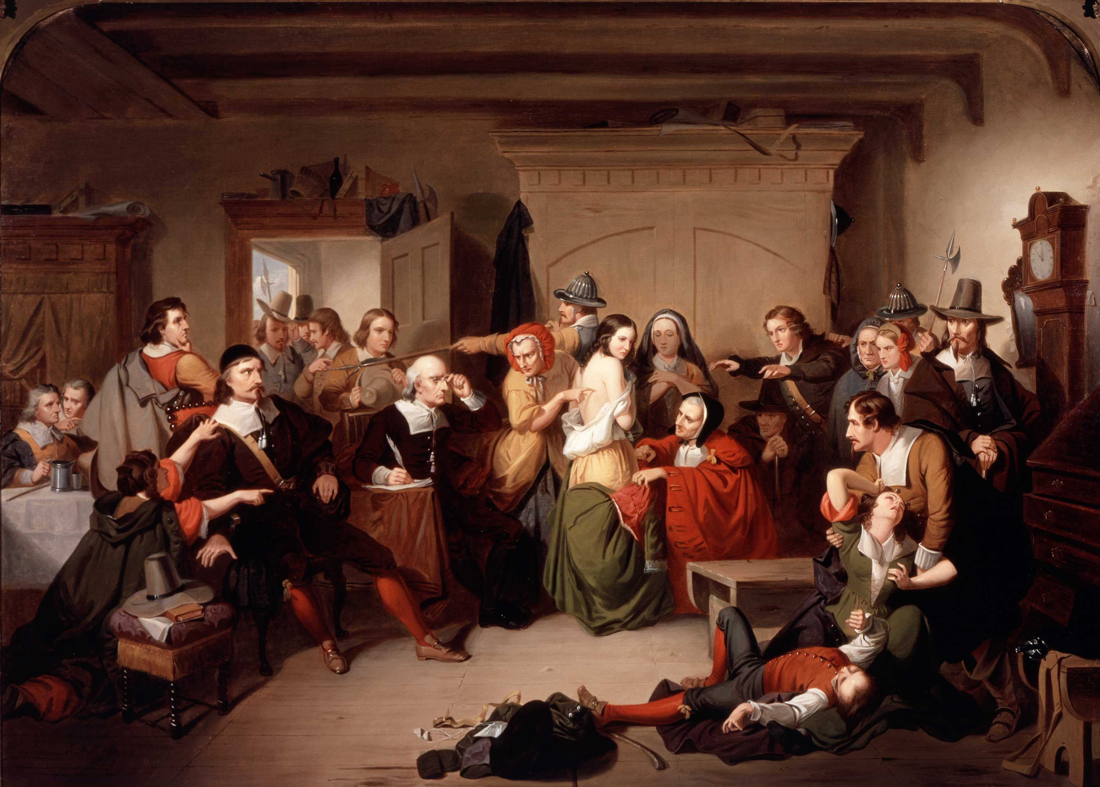 What Can We Learn From The Salem Witch Trials The Art Newspaper