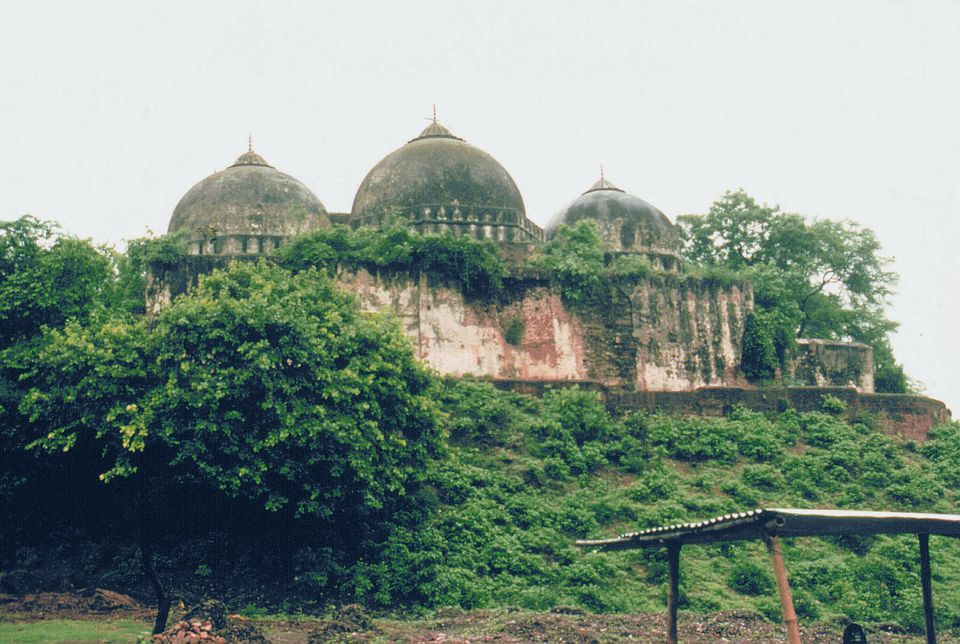 The Babri mosque in Ayodhya was torn down by Hindu extremists in 1992