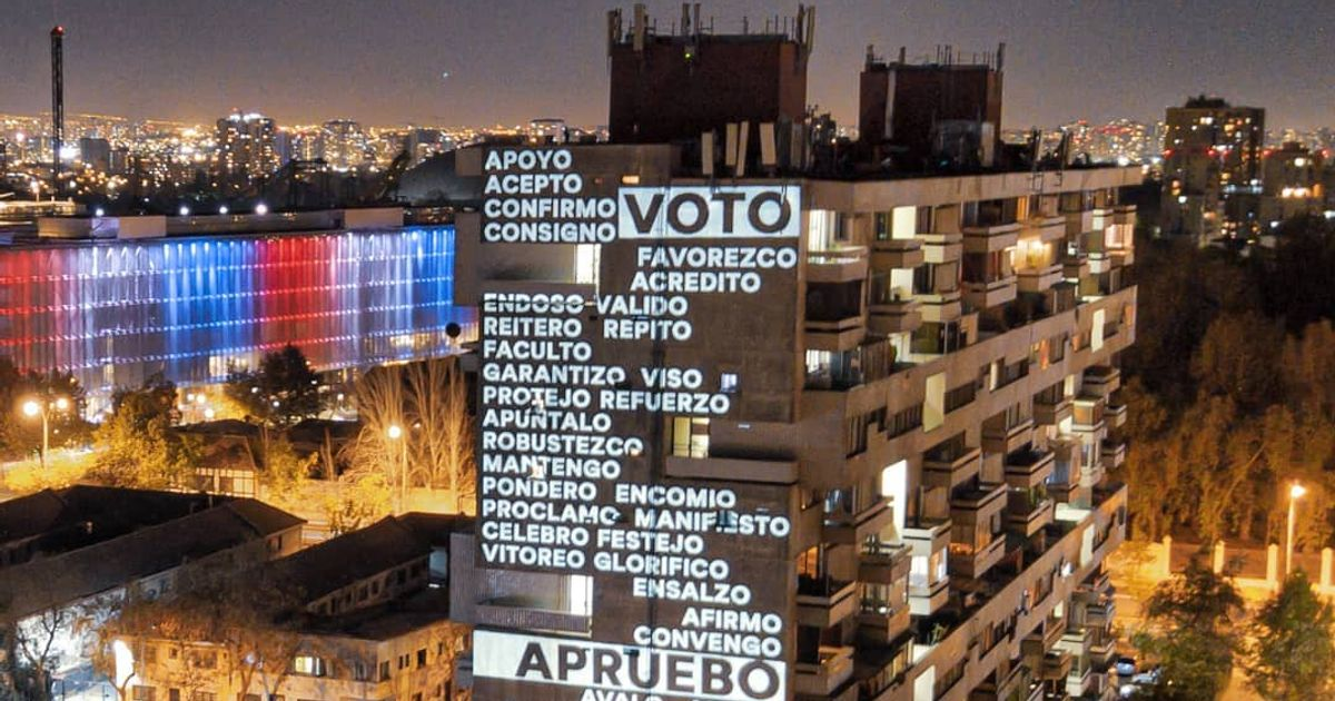 As constitutional showdown nears, Chile is a hotbed for artivism