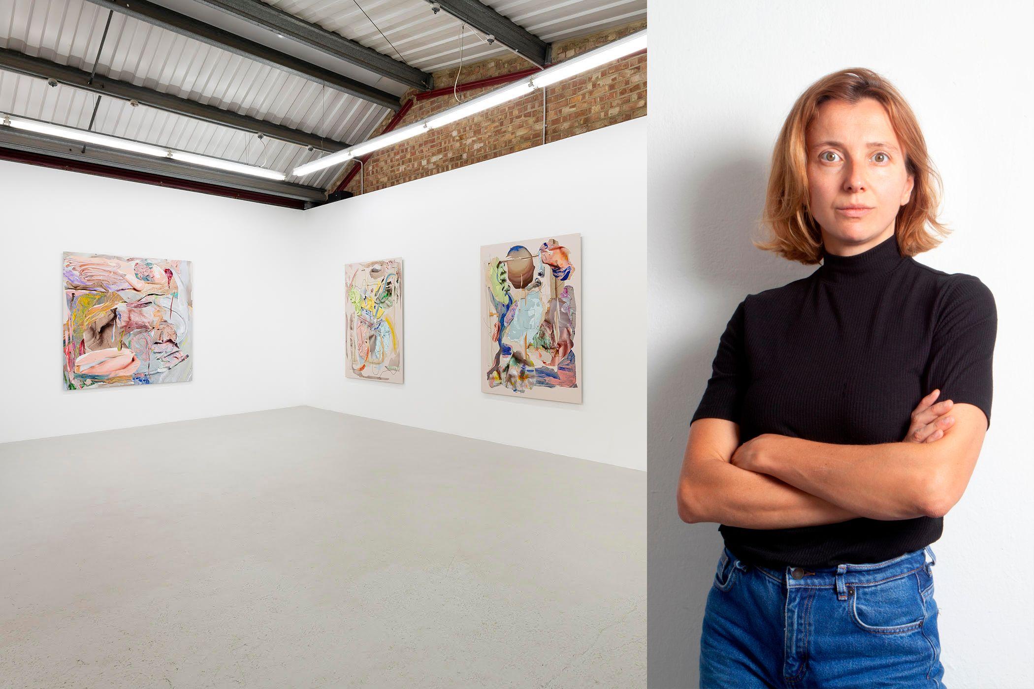 Rachel de Joode's new show Soft has opened at the Annka Kultys Gallery in London