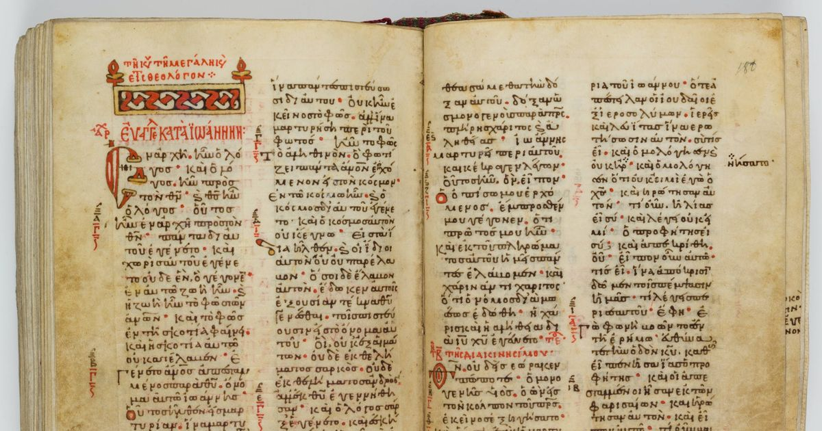 Museum of the Bible returns hand-written gospels looted from Greece during the First World War