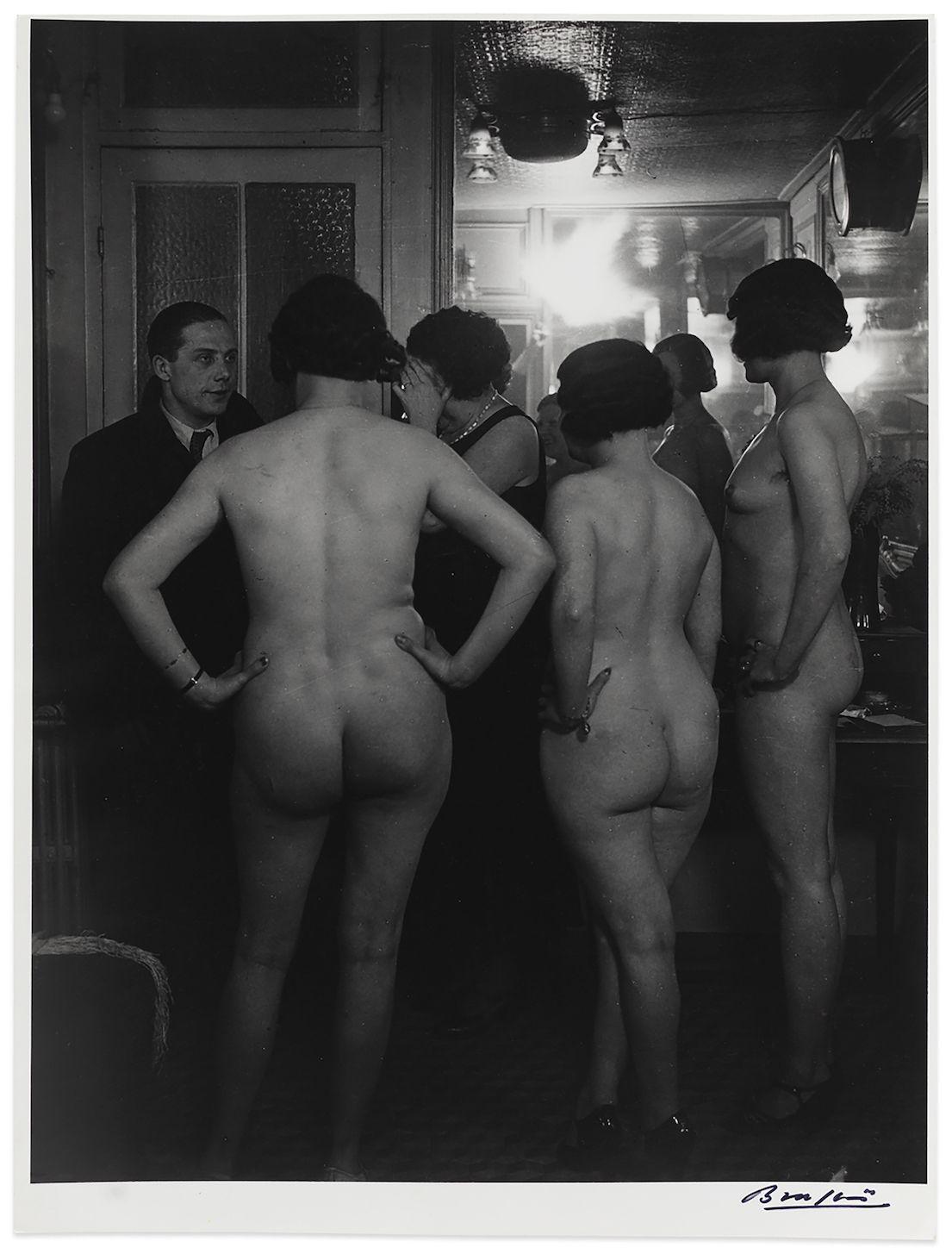 Brassaï, Chez Suzy, la presentation (At Suzy's, introductions) (around 1932-33)