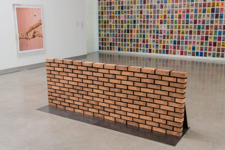 Sonya Clark, Edifice and Mortar (2018)