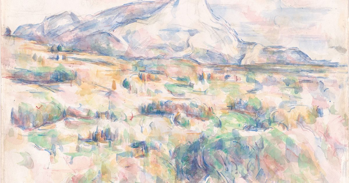 Cézanne's drawings, watercolours and sketchbooks to get star treatment at MoMA