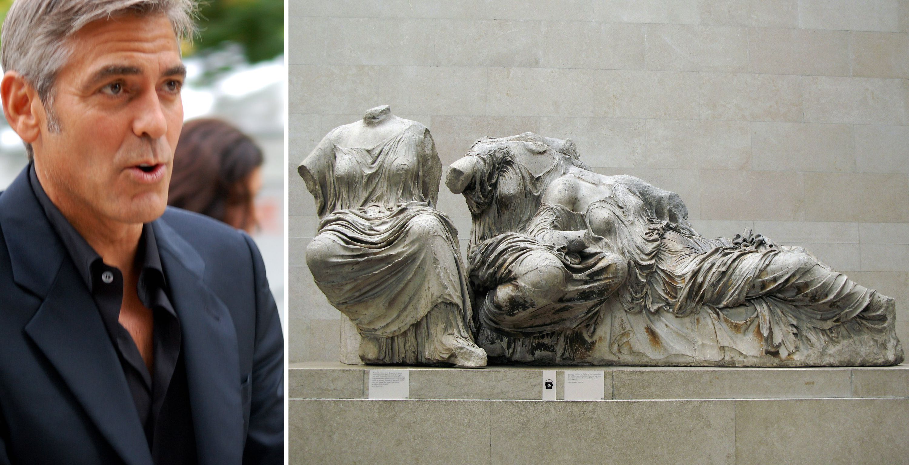 George Clooney wades into Parthenon Marbles debate—again George_clooney_parthenon_marbles