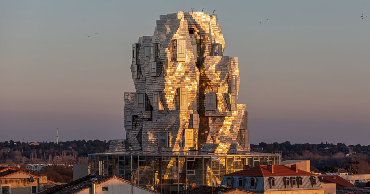 Frank Gehry's twisting tower for Luma Arles to open its doors in June