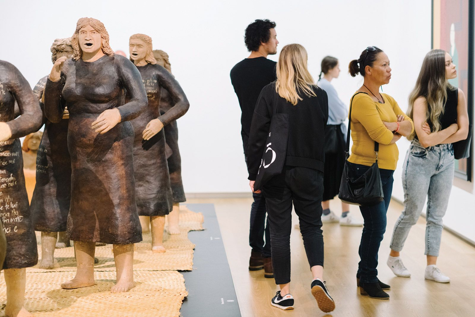 New Zealand triumph: the watershed exhibition Toi Tū Toi Ora: Contemporary Māori Art was the largest show in the 133-year history of the Auckland Art Gallery Toi o Tāmaki. The country's museums were closed for less time than the global average
