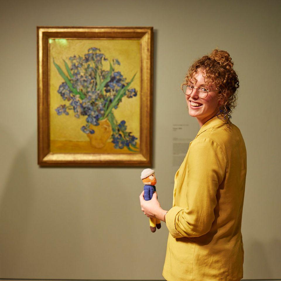 Boudewien Chalmers Hoynck van Papendrecht, social media manager at the Van Gogh Museum