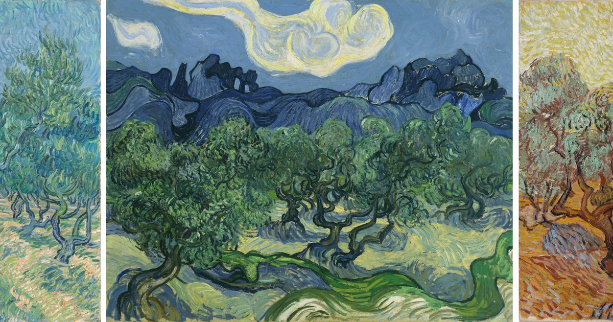 New discoveries about Van Gogh's olive grove paintings revealed in upcoming Dallas and Amsterdam exhibitions