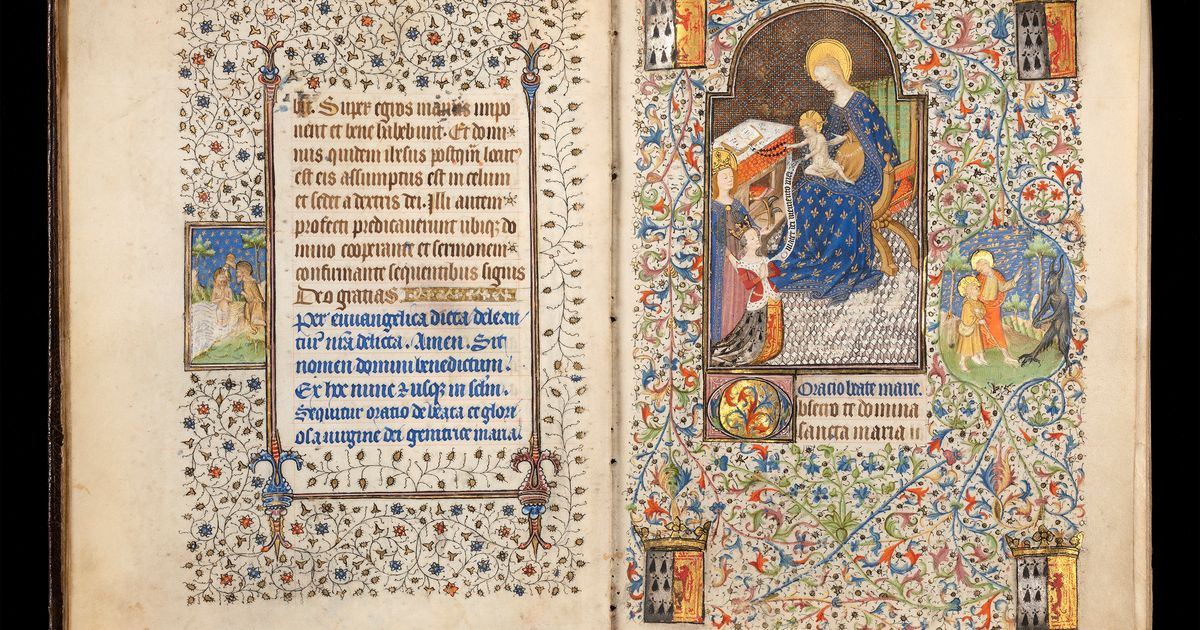 Off with her head! Infrared technology shows how a 15th-century French king used a paintbrush to replace one wife with another