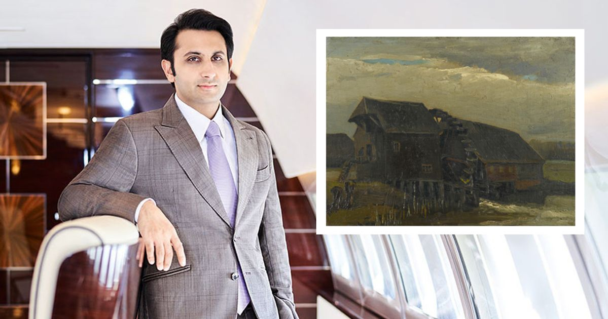 India's 'vaccine prince' has a Van Gogh landscape in his living room   The  Art Newspaper