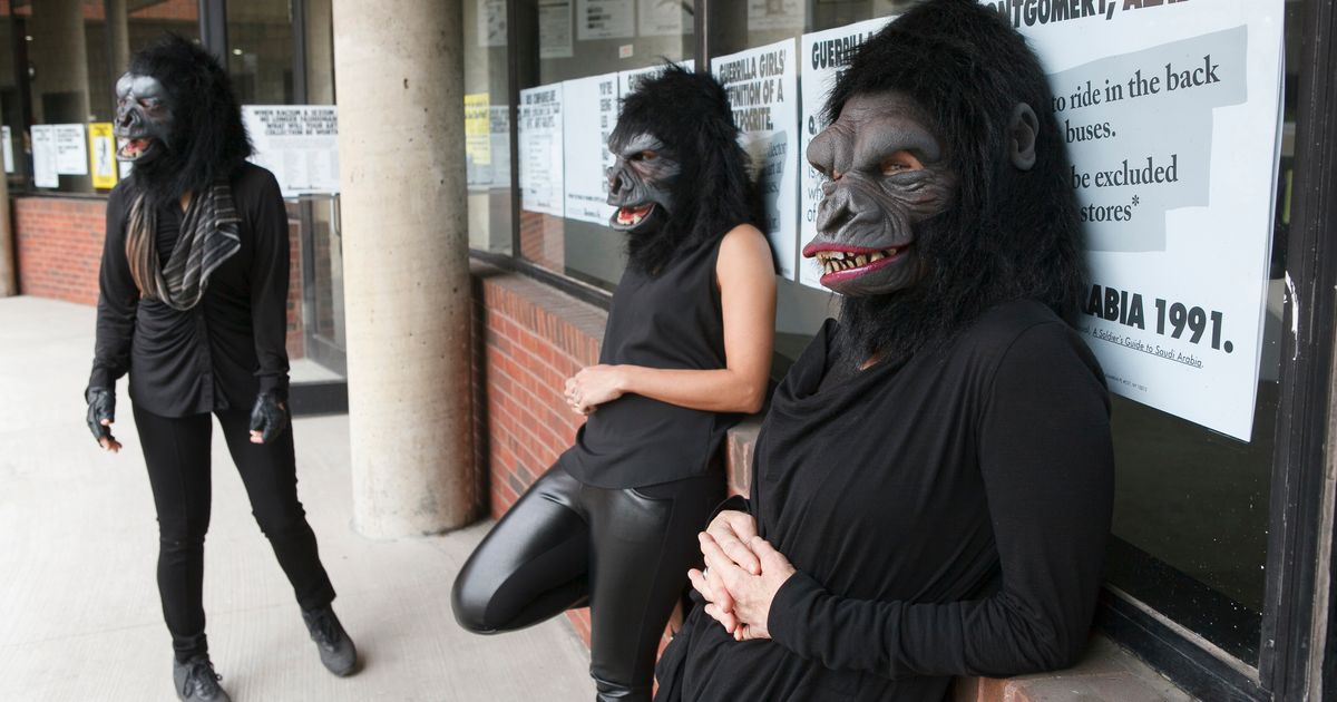 Sexism by numbers: Guerrilla Girls ask UK public to send in statistics of females nudes vs female artists at local museums