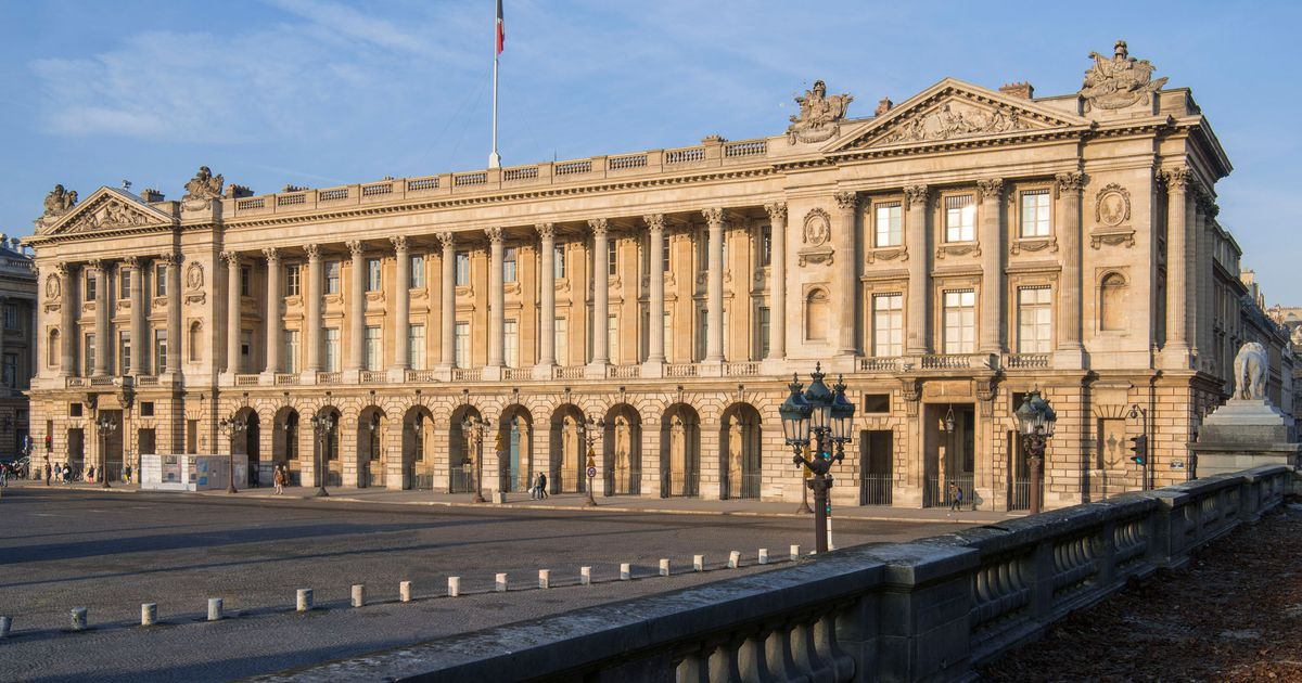 Paris's landmark Hôtel de la Marine opens to visitors—and co-working offices—after four years of restoration