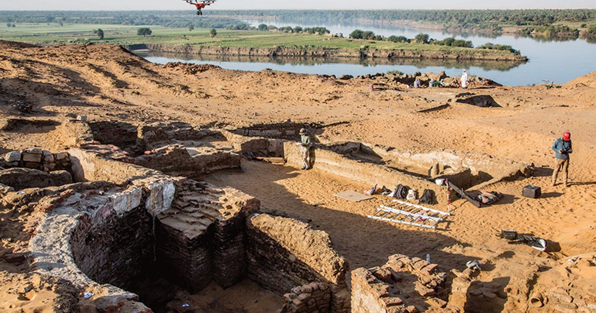 Archaeologists find ruins of vast Medieval Nubian cathedral in Sudan