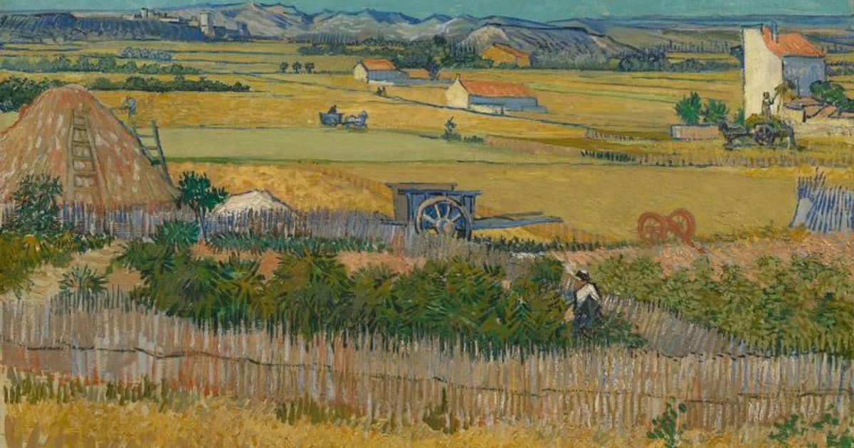 The Harvest: painted in a single summer's day, here's why this is Van Gogh's finest landscape