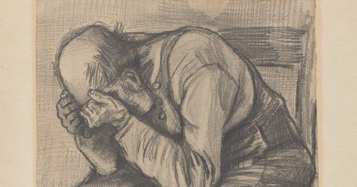 New Van Gogh discovery: first version of despairing man that was bought for £6—and then hidden away for more than a century